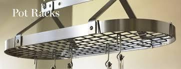 kitchen pan storage ideas hanging pot racks williams sonoma throughout kitchen pan rack ideas