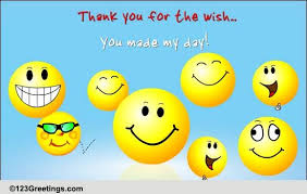 thank you birthday cards free thank you birthday wishes greeting