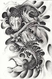 carp drawings tattoos images for tatouage