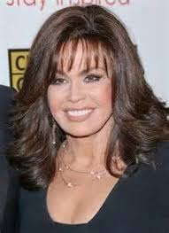 marie osmond hairstyles feathered layers brandon and brianna marie osmond pinterest