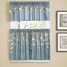 yellow and blue kitchen curtains adeal info
