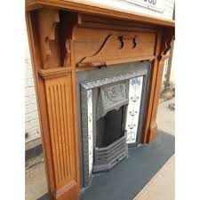 victorian fireplace original oak victorian fireplace