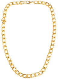 chain necklace images Heavy gold chain necklace to add bling bling to your costume jpg