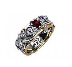 diamond engraved rings images Mothers day gift asian ruby ring diamond ring milgrain ring art jpeg