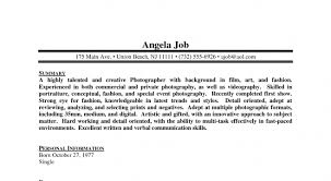 Freelance Photographer Resume Sample by Free Professional Resume Template Page 18