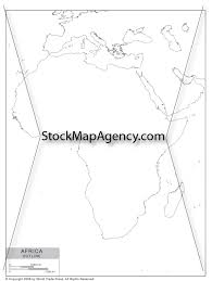Blank Map Of Africa Pdf by Outline Map Of Africa Available As Poster Print Or As Digital