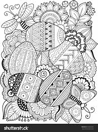 coloring pages for adults easter vector coloring book for adult easter egg coloring pages
