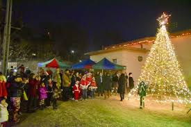 tree lighting ceremony helps spread cheer
