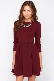 sleeve dress diller dress burgundy dress sleeve dress 79 00
