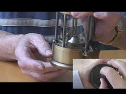 how to open a miner s l wrexham bersham lighting a mine safety l youtube