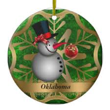 oklahoma ornaments keepsake ornaments zazzle