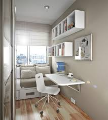 Desk With Storage For Small Spaces Small Bedroom Desks For A Narrow Bedroom Space Homesfeed