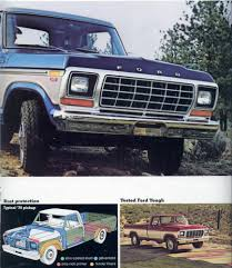 Vintage Ford Truck Steel Wheels - 1970 1979 vintage ford truck ads blue oval trucks