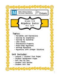 paper pattern grade 8 full unit algebra meets both ontario grade 7 8 patterning and