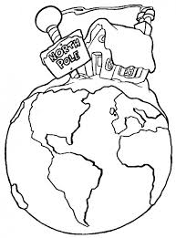 north pole printables coloring pages hubpages