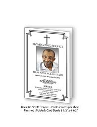funeral card template funeral and memorial card templates