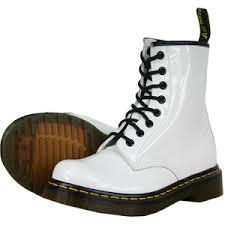 womens boots dr martens dr martens 1460w womens boots patent ler black white re