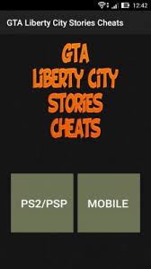 android cheats gta liberty city stories cheats free android app android freeware