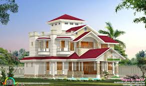 one home in 2 different colors kerala home design and floor plans