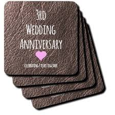 third anniversary gift ideas third anniversary wedding gift unique third year wedding
