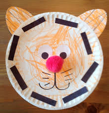 thanksgiving crafts for pre k paper plate tiger craft preschool craft kids crafts