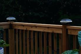 wilson and fisher solar lights solar light for deck post post cap lighting wilson and fisher solar