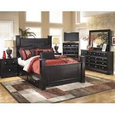Ashley Furniture Ashley North Shore Poster King Bedroom Set - Ashley north shore bedroom set