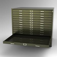 file and storage cabinet steel fixture flat files 5542 15 drawer
