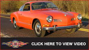 karmann ghia 1973 1973 volkswagen karmann ghia sold youtube
