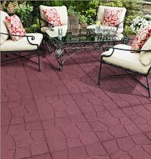 Recycled Rubber Patio Pavers Eco Friendly Pavers Envirotile Is Made With 100 Recycled