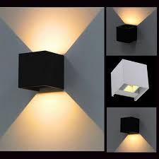 Outdoor Led Up Lighting Ip65 Cube Adjustable Surface Mounted Outdoor Led Lighting Led