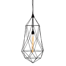 Teardrop Pendant Light Scarlett Teardrop Pendant Light Black Industrial Chic Style
