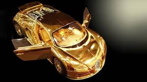 car bugatti gold golden veyron how much top gear