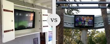 outdoor tv cabinet enclosure weatherproof outdoor tv cabinet for flat screens