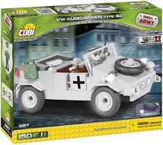 vw kubelwagen cobi 2187 vw kubelwagen type 82 wwii series 150 pcs military toy