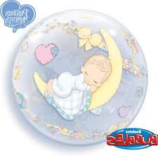 hd precious moments baby shower bubble balloon qualatex file free
