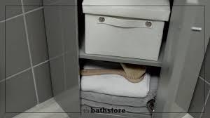 alpine duo 420 basin and corner vanity unit gloss grey youtube