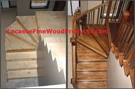custom hardwood stairs sized u0026 shaped and in the wood you need