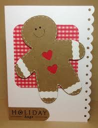 adorable gingerbread man card convites e cartões pinterest
