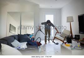 Vaccumming Vacuuming Man Stock Photos U0026 Vacuuming Man Stock Images Alamy