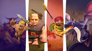 clash of clans fan art clash of clans wallpaper u203a heroes units city wallpaper and artworks