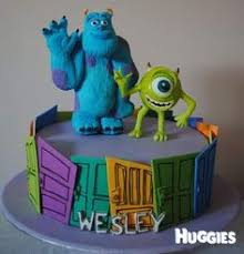 Monster Inc Decorations Monsters Inc Cake Cakes U0026 Cupcakes Ideas Pinterest Monsters