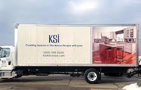 Ksi Kitchen Cabinets Custom Vehicle Wraps Ksi Kitchens Signs By Crannie