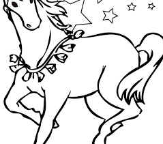 horse color pages coloring pages adresebitkisel