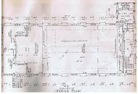 Catholic Church Floor Plans St Joseph Children U0027s Home 1912 1965 Church Floor Plan