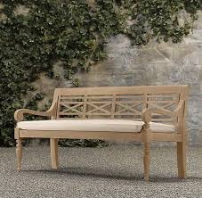 teak outdoor bench treenovation