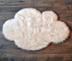Washable Sheepskin Rug Faux Sheepskin Cloud Rug U2013 Dlk Design Life Kids