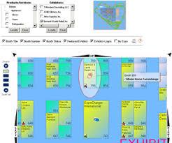 event management software demo of interactive floor plan