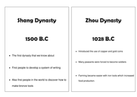 timeline of ancient china by kt1805 teaching resources tes
