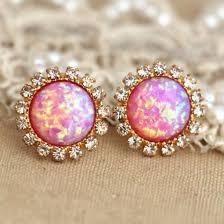 pretty earrings jewels earrings pink earrings pink opal diamonds diamonds